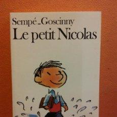 Livros em segunda mão: LE PETIT NICOLAS. SEMPÉ GOSCINNY. EDITORIAL FOLIO. Lote 208353243
