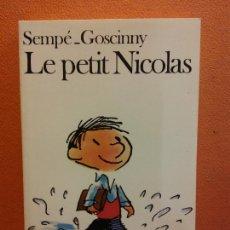 Livros em segunda mão: LE PETIT NICOLAS. SEMPÉ GOSCINNY. EDITORIAL FOLIO. Lote 208353388