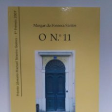 Libros de segunda mano: O Nº 11, MARGARIDA FONSECA SANTOS. EDIÇÔES COLIBRI. (PORTUGUÉS) 9789727728077. Lote 208767891
