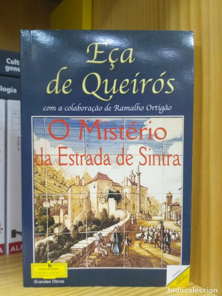 O MISTÉRIO DA ESTRADA DE SINTRA, EÇA DE QUEIRÓS. EUROPA-AMÉRICA (PORTUGUÉS) 5601072555112 (Libros de Segunda Mano - Otros Idiomas)