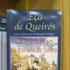 Libros de segunda mano: O MISTÉRIO DA ESTRADA DE SINTRA, EÇA DE QUEIRÓS. EUROPA-AMÉRICA (PORTUGUÉS) 5601072555112. Lote 209182660