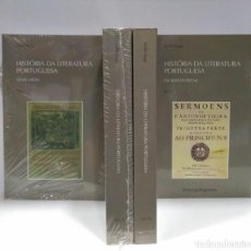 Libros de segunda mano: HISTÓRIA DA LITERATURA PORTUGUESA, TEÓFILO BRAGA. 4 VOLÚMENES (PORTUGUÉS) ED. TEMAS PORTUGUESES. Lote 209268321