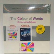 Libros de segunda mano: THE COLOUR OF WORDS. MÉTODO DE PRONUNCIACIÓN DEL INGLÉS + CD- INTERACTIVO CON SONIDOS 9788461429035. Lote 209273682
