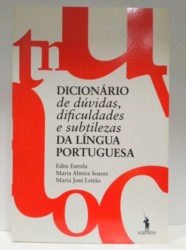 DICIONÁRIO DE DÚVIDAS, DIFICULDADES E SUBTILEZAS DA LÍNGUA PORTUGUESA (PORTUGUÉS) 9789722036115 (Libros de Segunda Mano - Otros Idiomas)
