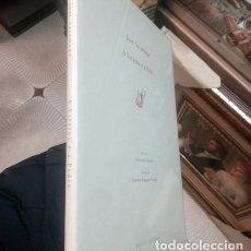 Libros de segunda mano: JOSE SARAMAGO. . A ESTATUA E A PEDRA..EDIZIONE DELL ORSO 1999. SOLO 100 EJEMPLARES..PLASTIFICADO. Lote 209716755