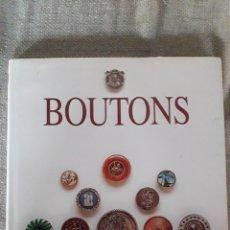 Libros de segunda mano: BOUTONS. Lote 209903891