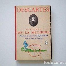 Libros de segunda mano: RENÉ DECARTES · DISCOURS DE LA MÉTHODE. GALLIMARD ET LIBRAIRIE GÉNERALE FRANÇAISE, 1970. Lote 210419911