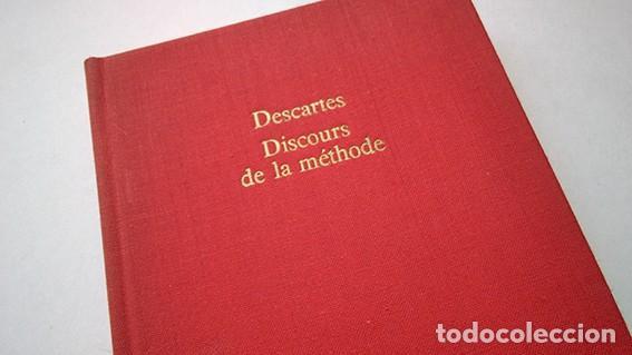 Libros de segunda mano: René Decartes · Discours de la méthode. Gallimard et Librairie Génerale Française, 1970 - Foto 2 - 210419911