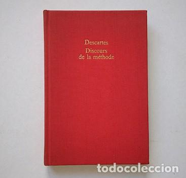 Libros de segunda mano: René Decartes · Discours de la méthode. Gallimard et Librairie Génerale Française, 1970 - Foto 3 - 210419911