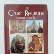 Libros de segunda mano: THE GREAT RELIGIONS, BY RICHARD CAVENDISH/ ED.EXCLUSIVA Y LIMITADA 1980. Lote 210682575