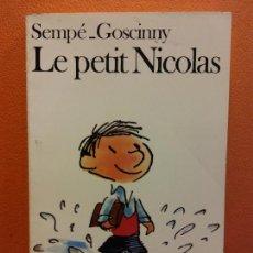 Livros em segunda mão: LE PETIT NICOLAS. SEMPÉ GOSCINNY. EDITORIAL FOLIO. Lote 211267886