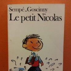 Livros em segunda mão: LE PETIT NICOLAS. SEMPÉ GOSCINNY. EDITORIAL FOLIO. Lote 211267911
