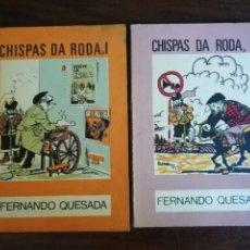 Libros de segunda mano: CHISPAS DA RODA I-II. FERNANDO QUESADA. O MOUCHO - EDICIÓNS CASTRELOS. Lote 211417239