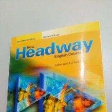 Libros de segunda mano: HEADWAY. Lote 211564004