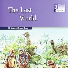 "Libros de segunda mano: ""THE LOST WORLD"" ARTHUR CONAN DOYLE. BURLIGTON BOOKS, ACTIVITY READER. 3º ESO. Lote 211676064"