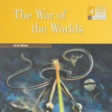"Libros de segunda mano: ""THE WAR OF THE WORLDS"" H.G.WELLS. BURLIGTON BOOKS, ACTIVITY READER. 4º ESO.. Lote 211677404"
