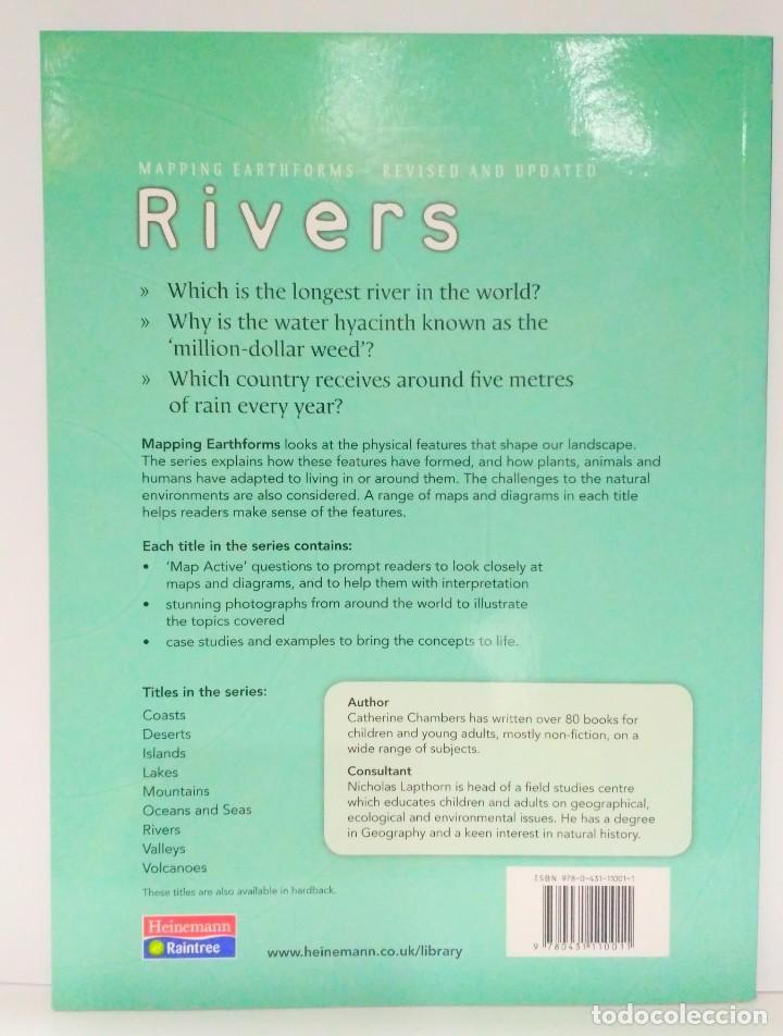 Libros de segunda mano: Rivers. Mapping Earthforms, Catherine Chambers. Heinemann (Inglés) 9780431110011 - Foto 2 - 211694141
