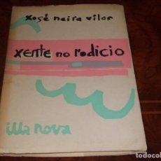 Libros de segunda mano: XENTE DE RODICIO, CONTOS, XOSÉ NEIRA VILAS. ILLA NOVA 9 GALAXIA 1.965, ILUST. XOHÁN LEDO, LIMIAR SAL. Lote 211700809