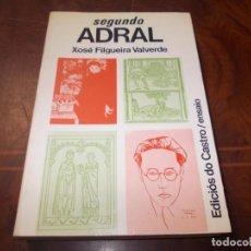 Libros de segunda mano: SEGUNDO ADRAL, XOSÉ FILGUEIRA VALVERDE. EDICIÓS DO CASTRO ENSAIO 1.981. Lote 211706364