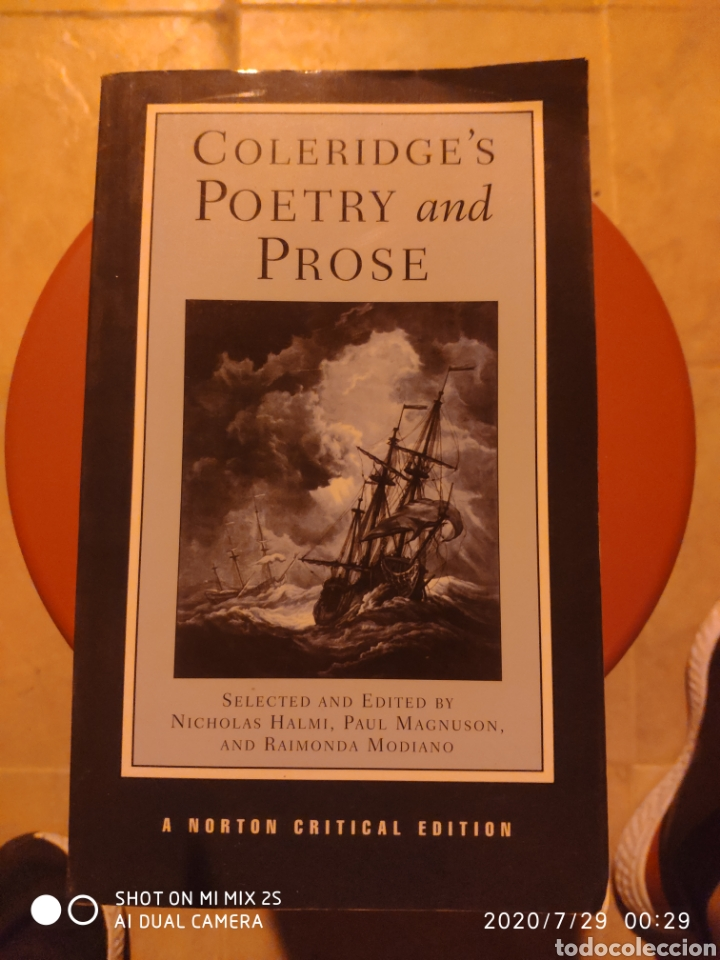 COLERIDGE'S POETRY AND PROSE (Libros de Segunda Mano - Otros Idiomas)