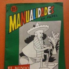 Livros em segunda mão: ACTIVIDADES MANUALES Nº 19. EL MUNDO MARAVILLOSO DEL PAPEL. FANTASÍA. EDITORIAL MIGUEL A. SALVATELLA. Lote 213603841