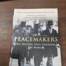 Libros de segunda mano: PEACEMAKERS. MARGARET MACMILLAN. JOHN MURRAY. 2003.. Lote 213869342