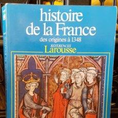 Livros em segunda mão: HISTORIE DE LA FRANCE DES ORIGINES 1348 - GEORGE DUBY. Lote 214121568