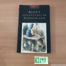Libros de segunda mano: ALICE'S ADVENTURES IN WONDERLAND. Lote 214282997