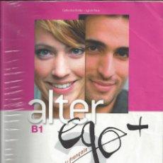 Libros de segunda mano: ALTER EGO B 1. HACHETTE. AÑO 2013 + CD. Lote 214437391