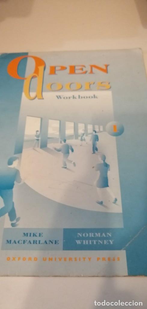 G-28 LIBRO OPEN DOORS WORKBOOK SIN ESCRIBIR MIKE MACFARLANE NORMAN WHITNEY (Libros de Segunda Mano - Otros Idiomas)