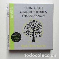 Libros de segunda mano: THINGS THE GRANDCHILDREN SHOULD KNOW (AUDIOBOOK 4CD) - MARK OLIVER EVERETT. Lote 214516542
