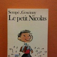 Livros em segunda mão: LE PETIT NICOLAS. SEMPÉ GOSCINNY. EDITORIAL FOLIO. Lote 217240776