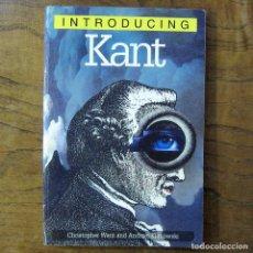 Libros de segunda mano: WANT, KLIMOWSKI - INTRODUCING KANT - 1999 - EN INGLÉS - ILUSTRADO, FILOSOFÍA,. Lote 217561790