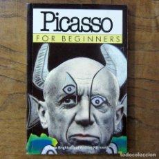 Libros de segunda mano: BRIGHTON, KLIMOWSKI - PICASSO FOR BEGINNERS - 1995 - EN INGLÉS - ILUSTRADO, ARTE, PINTURA, ESCULTURA. Lote 217562503