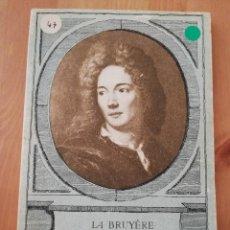 Libros de segunda mano: LES CARACTÈRES (LA BRUYÈRE). Lote 217807757