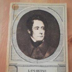 Libros de segunda mano: POÉSIES CHOISIES (LAMARTINE). Lote 217807867