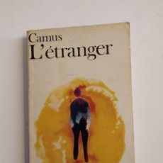 Libros de segunda mano: L´ÉTRANGER - ALBERT CAMUS. Lote 218225748