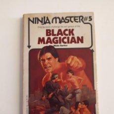 Libros de segunda mano: BLACK MAGICIAN - NINJA MASTER. Lote 218226032