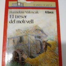 Libros de segunda mano: EL TRESOR DEL MOLI VELL DE HANNELORE VALENCAK.EDITORIAL CRUILLA.CATALAN.. Lote 218412746