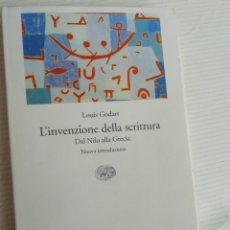 Libros de segunda mano: L'INVENZIONE DELLA SCRITTURA. EN ITALIANO. Lote 218668377