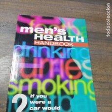 Libros de segunda mano: MENS´S HEALTH HANDBOOK. DR. MICHAEL APPLE & ROWENA GAUNT. 1998.. Lote 219058101