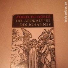 Libros de segunda mano: DIE APOKALYOSE DES JOHANNES. ALBRECHT DURER. 1957. EN ALEMAN. 32 PAGINAS. RUSTICA. Lote 220541988