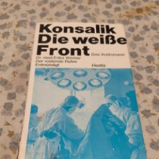 Libros de segunda mano: DIE WEIBE FRONT (KONSALIK). Lote 220641250
