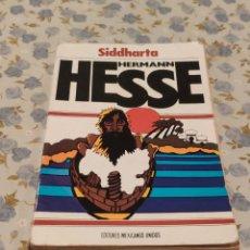 Libros de segunda mano: HERMANN HESSE (SIDDHARTA). Lote 220647801