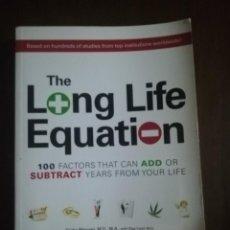 Libros de segunda mano: THE LONG LIFE EQUATION. TRISHA MACNAIR. OLGA CALOF. ADAMSMEDIA. 2007.. Lote 220694052