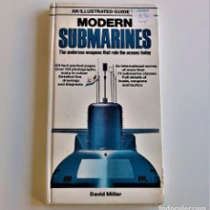 Livres d'occasion: 1982 LIBRO MODERN SUBMARINES - 22 X 12.CM. Lote 220750412