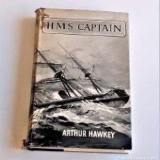 Livres d'occasion: 1963 LIBRO H.M.S. CAPTAIN ARTHUR HAWKEY - 15 X 22.CM. Lote 220750901