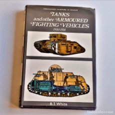 Livres d'occasion: 1970 LIBRO TANKS AND OTHER ARMOURED FIGHTING VEHICLES - 14 X 20.CM. Lote 220751970