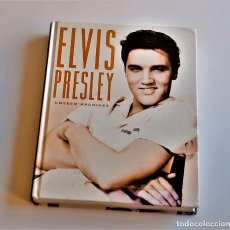 Livres d'occasion: LIBRO ELVIS PRESLEY UNSEEN ARCHIVES - 22 X 28.CM. Lote 220752760