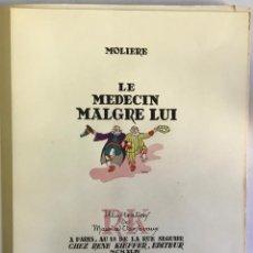 Libros de segunda mano: LE MEDECIN MALGRE LUI. - MOLIERE.. Lote 123219712